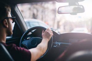 Kentucky driver politely driving